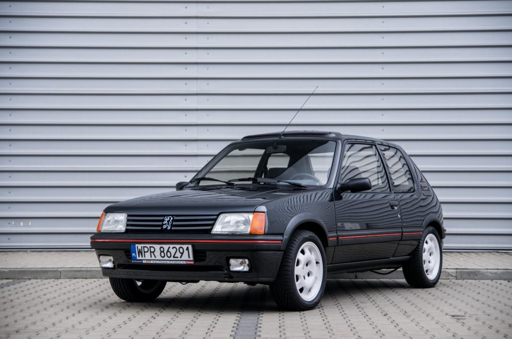 ardor auctions 1988 peugeot 205 gti. Black Bedroom Furniture Sets. Home Design Ideas