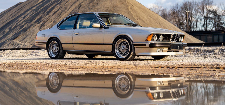 BMW E24 złote-39