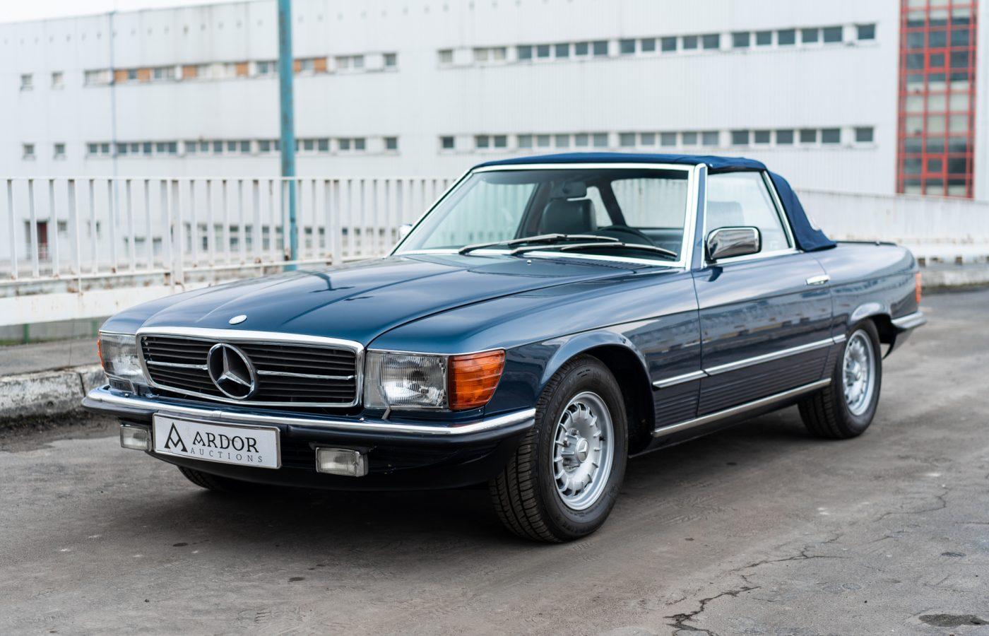 Mercedes 500SL-36